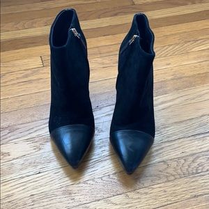 Tory Burch Booties - with shoe bag!